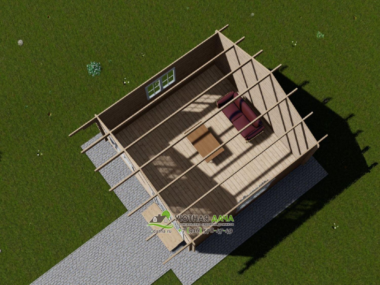 Дом 5 на 5 метров