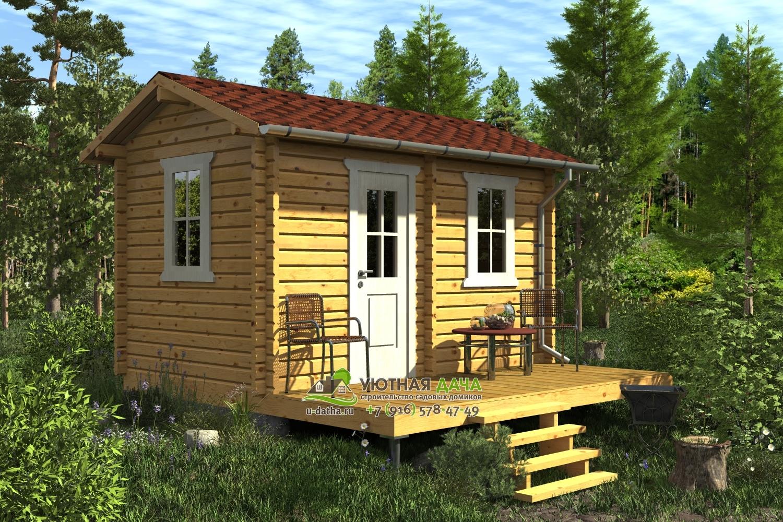 проекты садовых домиков с ценами и фото это